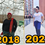 3 Years After This Pretty Lady Travelled To Canada, See Her Body Transformation That Got Reactions