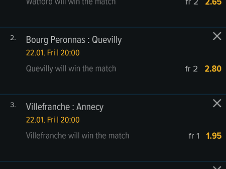 Today's football prediction with best odds