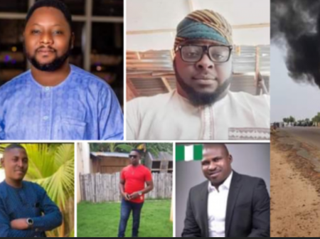 Five Men Die In Auto Crash On Their Way To Friend's Engagement Ceremony In Kaduna -See Photos