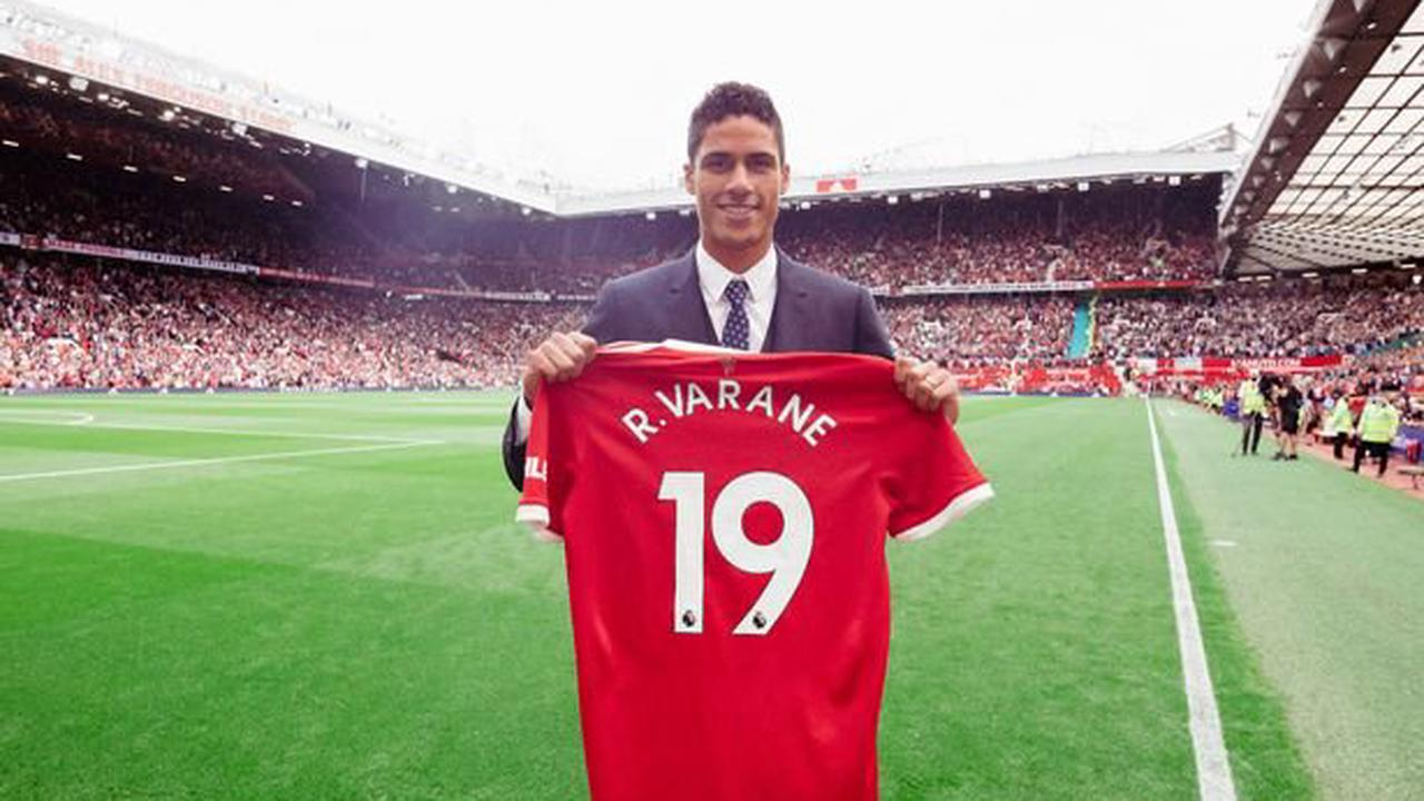 Manchester United may announce Raphael Varane shirt number today