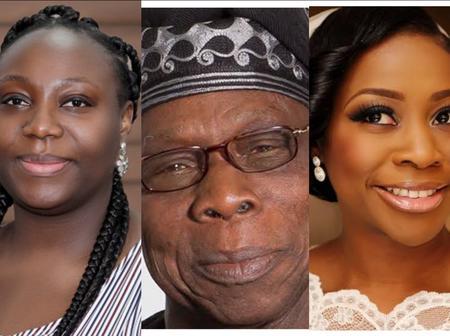 Meet The Grown up Children Of Former President Olusegun Obasanjo, One Of Them Looks Like Him