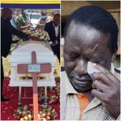 Raila Odinga Attending Another Burial Today -PHOTOS