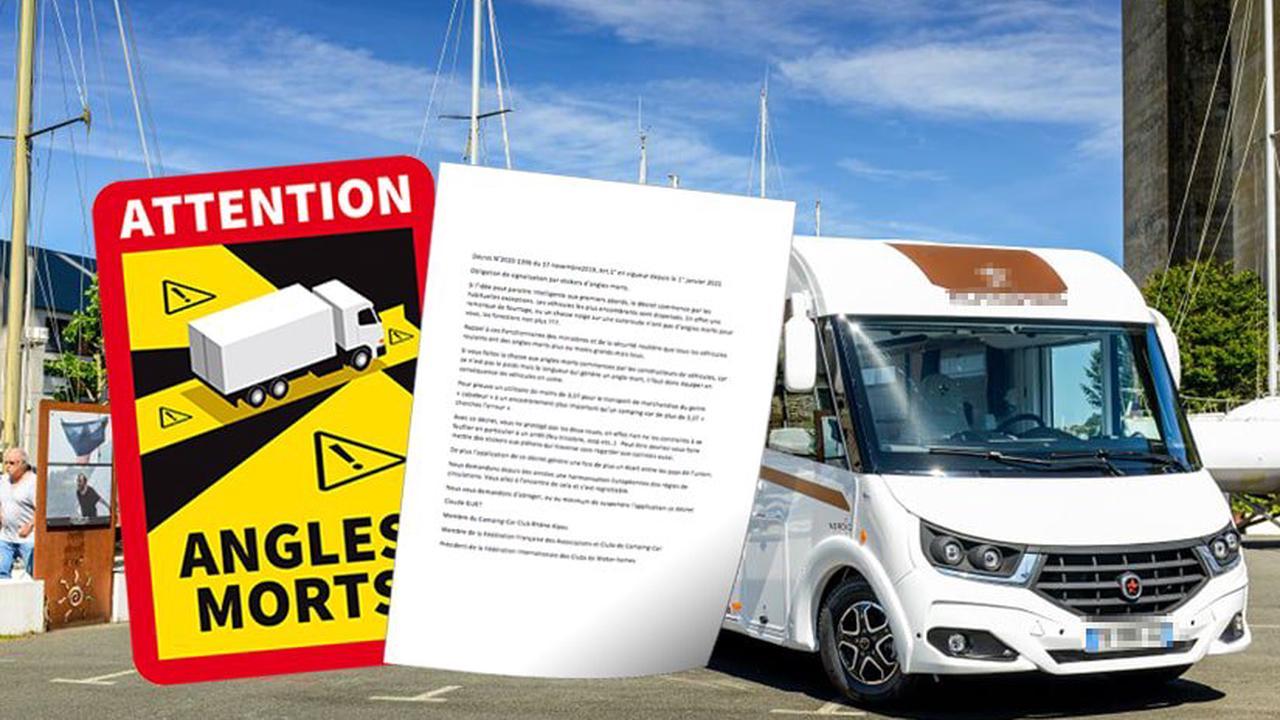 Billets d'humeur au vitriol : contre la signalisation des angles morts sur camping-cars poids lourd