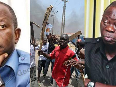 May the people of Edo rise, stone you on the street. Deceitful man — Angry mobs to Adams Oshiomole.