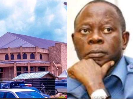 Adams Oshiomole Donates Church Building To A Catholic Community, Checkout The Beautiful Building