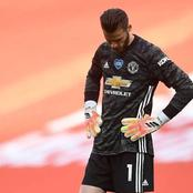Manchester United release De Gea for one month