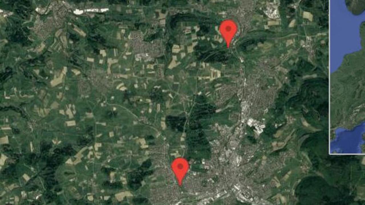 Aalen: B 29 gesperrt aufgrund von Straßenarbeiten zwischen Essingen und Aalen-West in Richtung Aalen