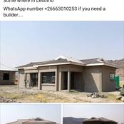 Checkout the house he builds somewhere in Lesotho