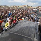 Raila's Massive Crowd In Embakasi East That Confirms That He Is Still Loved