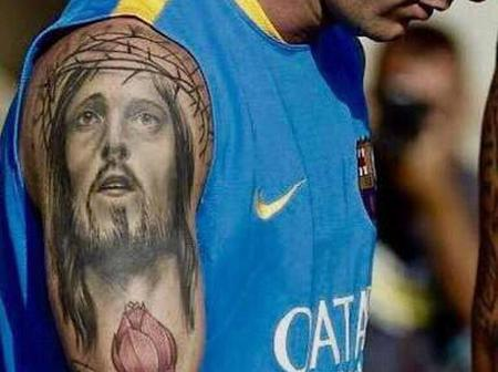 'Jesus Is The Answer', See 5 Famous Footballers That Publicly Showed Their Love For Jesus Christ.
