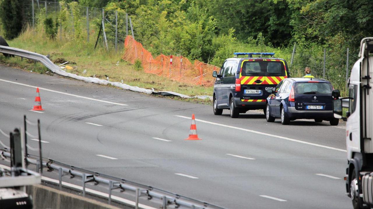 Monchy-Humières: un chauffeur de poids lourd décède sur l'A1