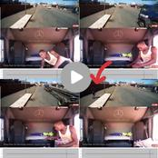 Watch: Zimbabwean Suspects Caught On Camera While Stealing A Trucker's Items, In Durban.