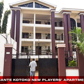 Check out the luxurious apartment Kumase Asante Kotoko has rented for their players.