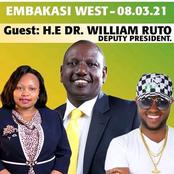 Here Is Where DP Ruto Will Be On Tuesday After His Meru County Tour Ends