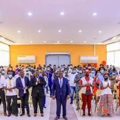 Culture: le maire Cissé Bacongo reçoit l'union des artistes de Koumassi