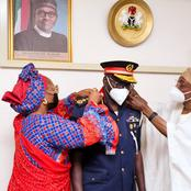 Interior Minister, Rauf Aregbesola Decorated The New Commandant General of the NSCDC [Photos]