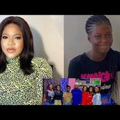 Toyin Abraham's Step Daughter Shows Off Her Step Mother And Grateful For Having A Lovely Family.