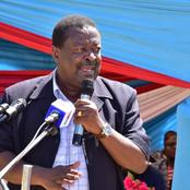 Mudavadi's Facebook Admin Makes This Blunder That Has Attracted Backlash Online