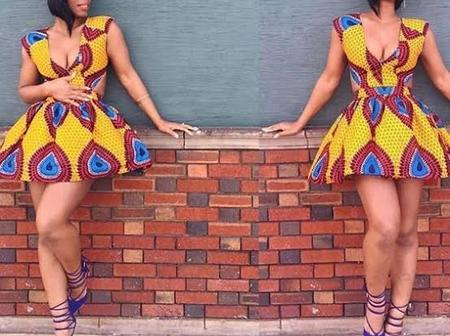 Spice Up Your Easter With These Latest Ankara Skirts And Blouses