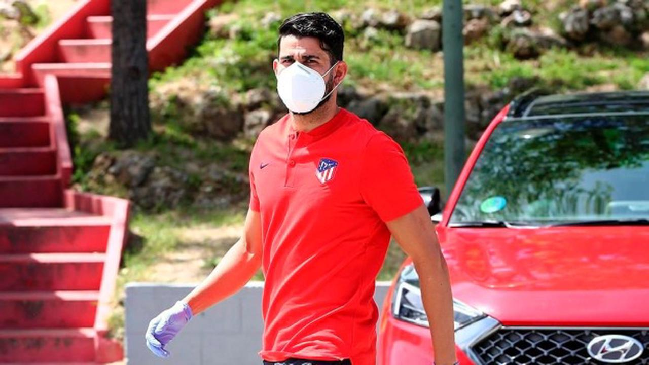 Atletico Madrid ends Diego Costa's contract early, making Spain striker a free agent