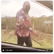 Uhuru kenyatta spotted walking the streets of Kenya without security