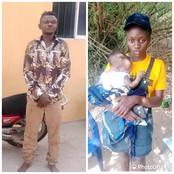 See What This 25-Year-Old 'Okada Rider' Did To This 4-Month-Old Girl That Got Him Arrested In Nnewi