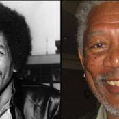 Tribute to the star movie legend Morgan Freeman and his pictures back in his earlier days.