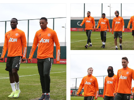 Ighalo, Cavani and Telles present as Man Utd full squad turn up for training ahead FA cup match.