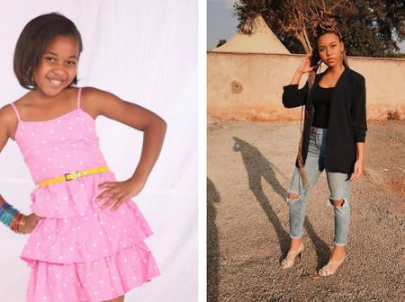 Do you Remember Joy of Machachari? Meet Her Fully Grown Up(Photos)