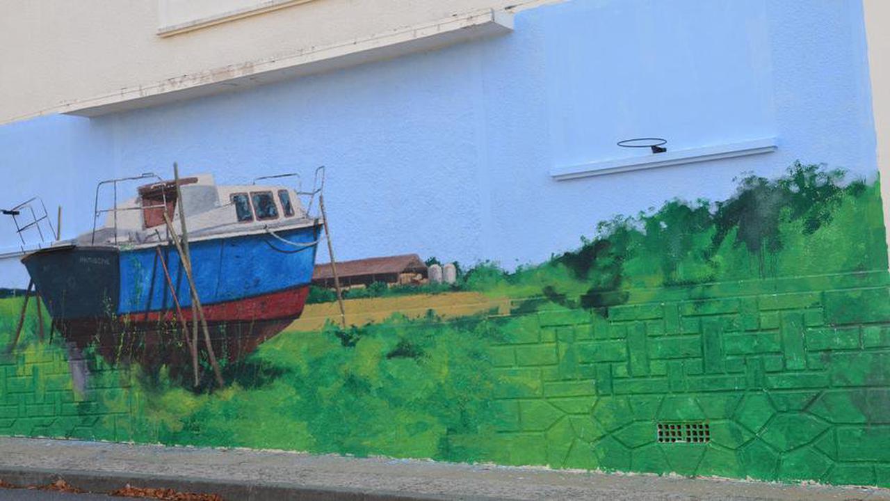 Saint-Sorlin-de-Conac: deux artistes laissent leur marque dans le village