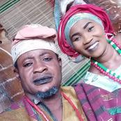 Meet Talented Yoruba Actor, Taofeek Adewale With Other Popular Actors In The Industry.