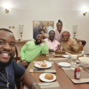 Musalia Shares Beautiful Photos of His Lovely Family Sharing a Meal