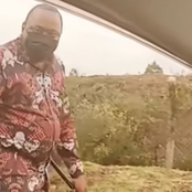 Concerns Raised Over Uhuru's Security After He Was Spotted Walking Alone, Where Were His Bodyguards?