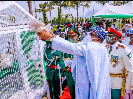 Today Is Armed Forces Remembrance Day, See Photos From The Event In Abuja