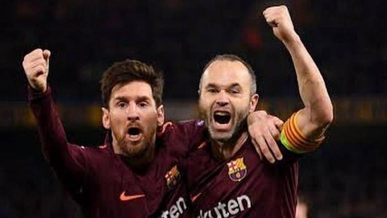 Iniesta : «C'est étrange de voir Leo sous un autre maillot»