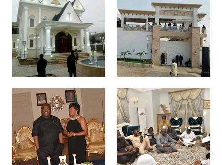 Between Nyesom Wike's And Yahaya Bello's Mansion, Which Has The Better Interior Designs? (Photos)