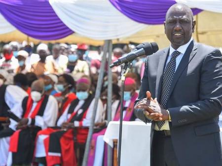 R.I.P! Ruto Reminds Kenyans Things to Remember the late Bishop With