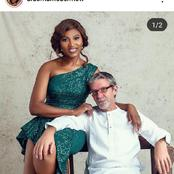 Actress Ufuoma McDermott Celebrates 11 year Anniversary with Her Husband.