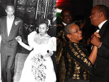 Awesome Photos Of Kenya's Presidents And Their Wives On Their Wedding Days