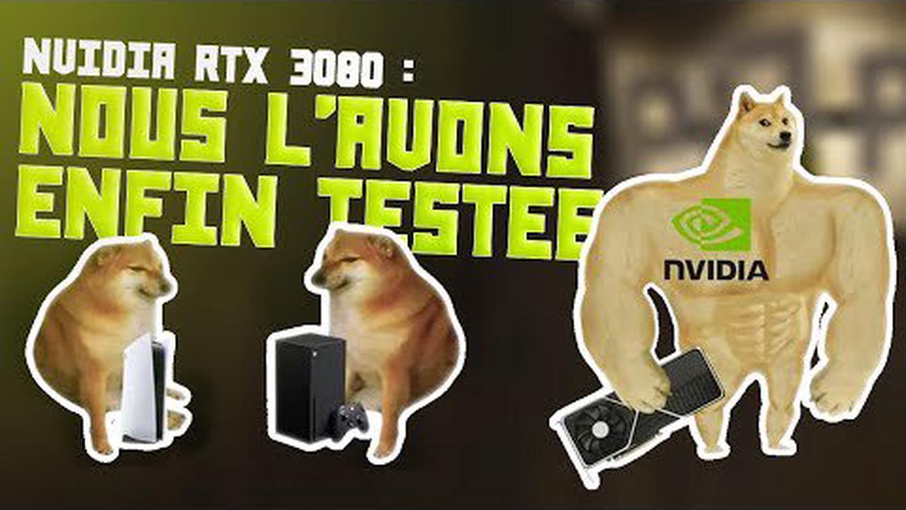 Nvidia GeForce RTX 3080 : où acheter la carte graphique au meilleur prix