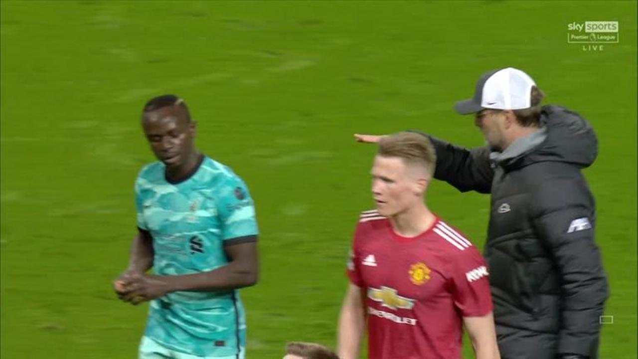 Liverpool manager Jurgen Klopp plays down Sadio Mane handshake snub, Graeme Souness calls it 'disrespectful'