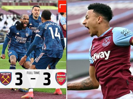 3 Things We Saw As Arsenal Drew 3-3 Against West Ham United