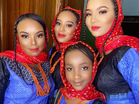 See The Kind Of Lovely Hairstyles Kanuri Women From Borno State Make