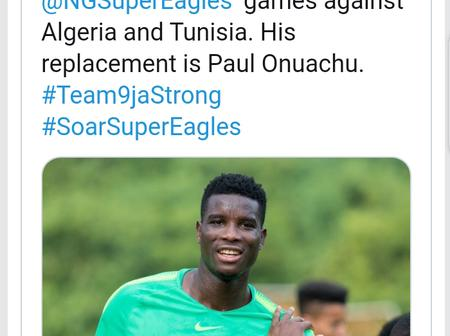 Paul Onuachu Replaces Victor Osimhen Ahead Of Super Eagles Friendlies In October