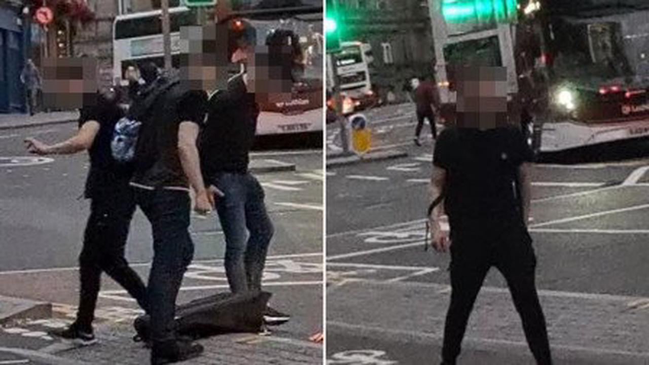 Gay man kicked into path of car and called 'p**f' in homophobic attack on couple