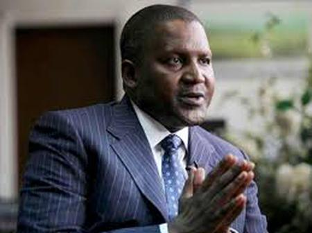 Aliko Dangote Tops The Forbes Africa's Billoniares List with A Newtworth of $12.1 Billion