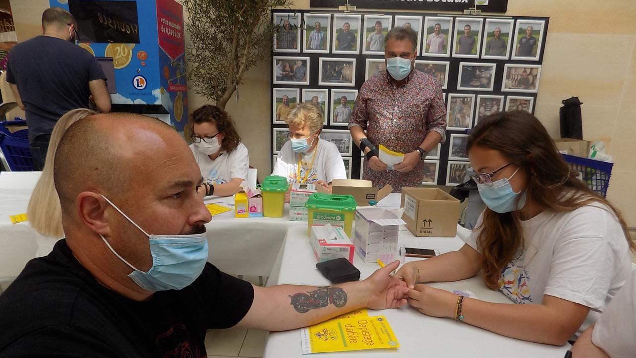 LE CREUSOT : 394 personnes se sont présentées aux tests de dépistage du diabète