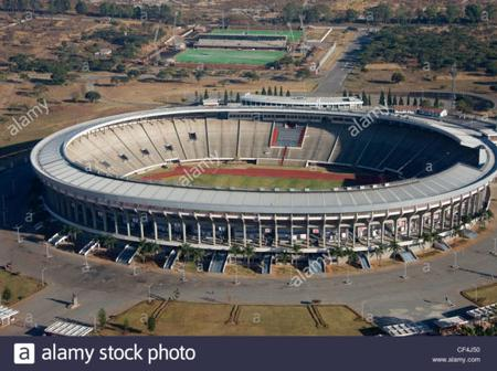 Top 10 Largest Soccer Stadiums In Africa.
