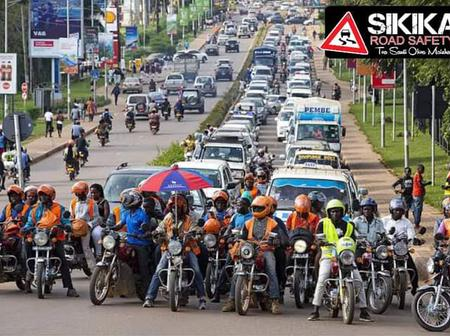 What Uganda's BodaBoda Riders Were Spotted Doing
