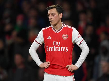Is Mesut Ozil's Career At Arsenal Over? Check Out What A Fan Tweeted That Got People Talking.